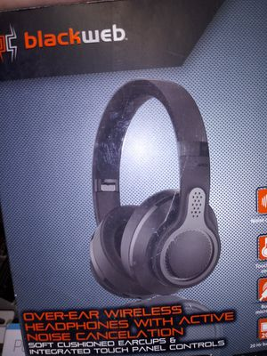 Blackweb Over the ear wireless bluetooth headphones for Sale in Columbus, OH
