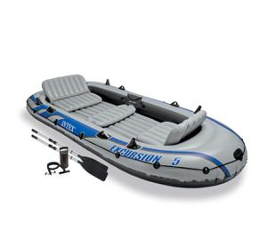 Intex Excursion 5 inflatable Boat ( New in Box) for Sale in Mountain View, CA