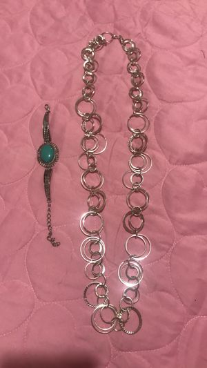 Necklace with bracelet for Sale in Affton, MO
