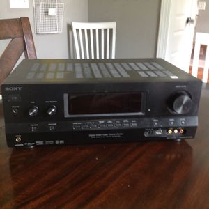 Sony audio and video receiver for Sale in Spring Hill, TN
