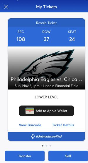 Philadelphia Eagles Tickets for Sale in Philadelphia, PA