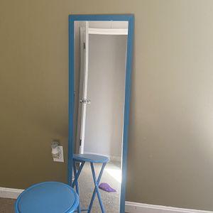 Full Length Mirror & Stool Combo for Sale in Greater Upper Marlboro, MD