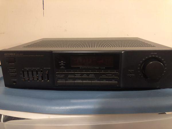 Optimus 31-2120 STA-900 Digital Synthesized AM/FM Stereo Receiver Radio Tuner