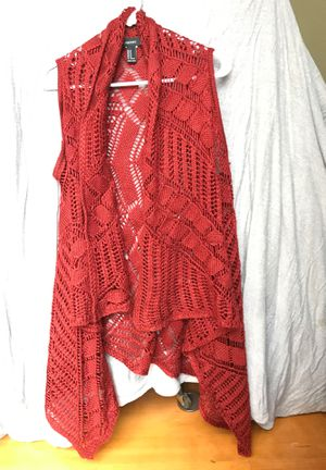 Forever 21 Vest Sweater for Sale in Foresthill, CA
