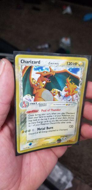 POKEMON CHARIZARD CARD SLIGHT BEND for Sale in Tacoma, WA