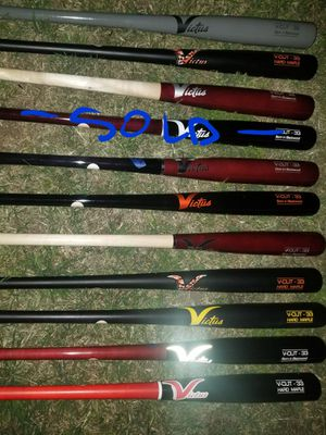 "Brand New Victus Pro Model Hard Maple Ink Dot Wood Baseball Bats 33.5"" Brand New Also 32"", 33"", 33.5"", 34"" for Sale in La Puente, CA"