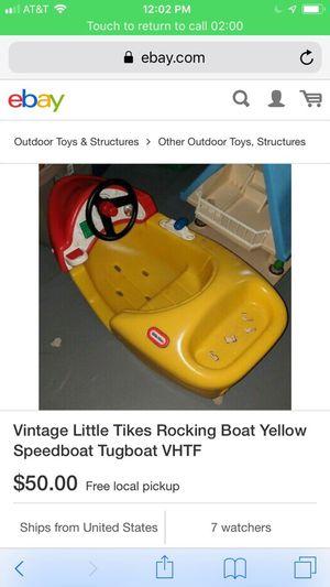 Little Tikes boat for Sale in North Tonawanda, NY