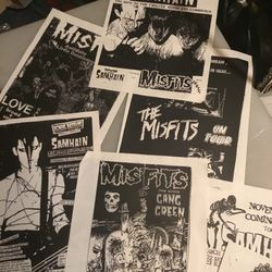 Original Misfits Flyers NOT FREE for Sale in Fremont,  CA