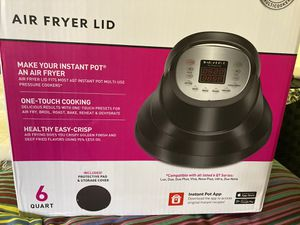 Brand New Instant Pot Air Fryer Lid for Sale in Los Angeles, CA