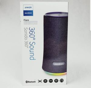 WaterProof LED Bluetooth Speaker, Anker Soundcore Flare 360⁰ Sound for Sale in Mount Crawford, VA