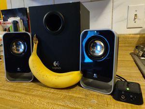Logitech speaker set (LS21) for Sale in Columbus, OH