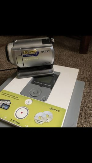 Sony 30gg handcam & dvd recorder for Sale in Virginia Beach, VA