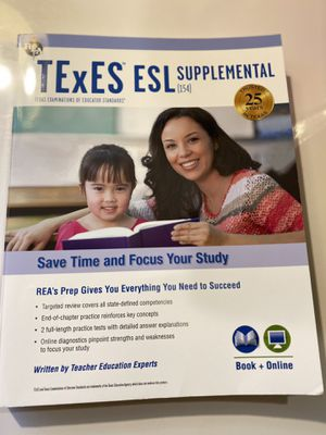 TExES ESL prep book for Sale in Cypress, TX