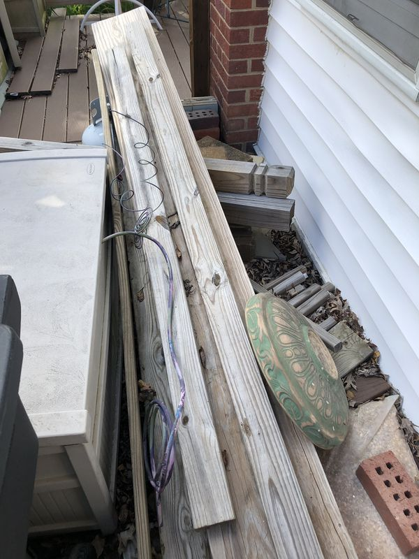 FREE Wood boards and fence posts