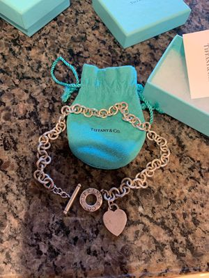 Tiffany & Co Heart Toggle Necklace for Sale in Portland, OR