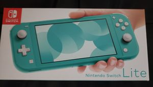 Nintendo Switch Lite game console Turquoise brand new for Sale in Garden Grove, CA