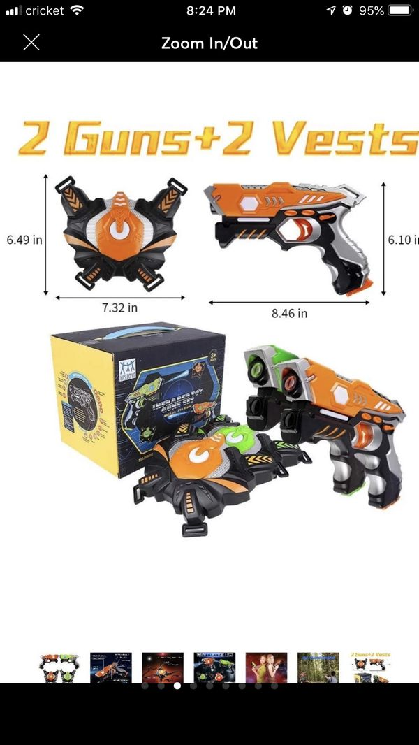 HISTOYE Lazer Laser Tag for Kids Adults Laser