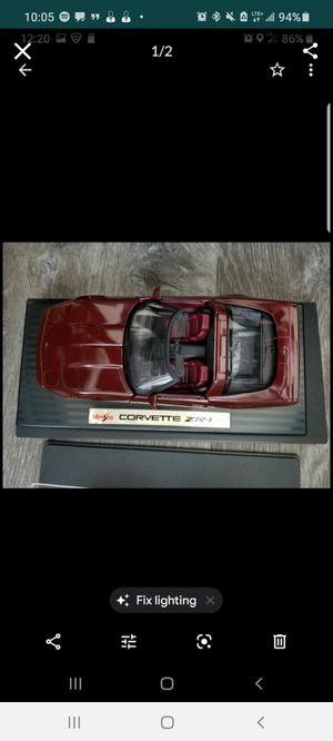 Corvette Zr-1 full diecast for Sale in Hacienda Heights, CA