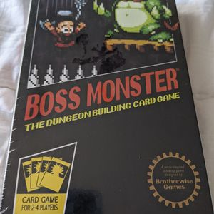 Boss Monster Dungeon Building Card Game for Sale in San Luis Obispo, CA