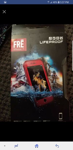 iPhone 7 lifeproof case for Sale in Charlotte Court House, VA