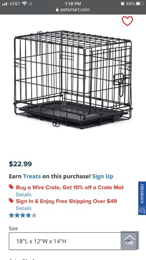 Puppy crate for Sale in Lemoore, CA