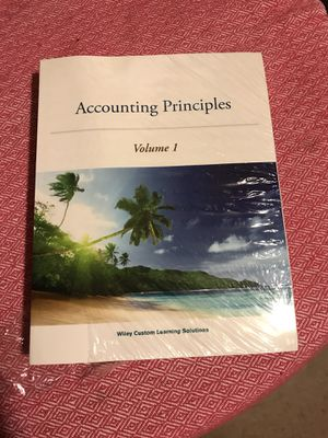 Accounting Principles Volume 1 for Sale in El Monte, CA