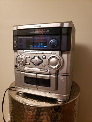 AIWA Compact Bookshelf Stereo NSX-AJ203, CD Changer AM/FM Radio Receiver for Sale in Brooklyn Park, MN