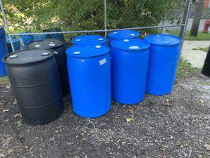 55 Gallon Plastic Drums for Sale in Detroit, MI