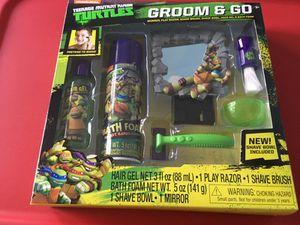 Ninja Turtles Groom & Go Kit for Sale in Dallas, TX