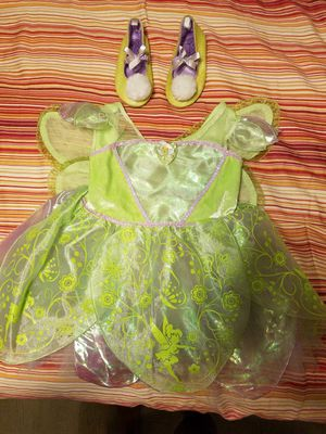 Tinkerbell costume size 2T for Sale in Clermont, FL