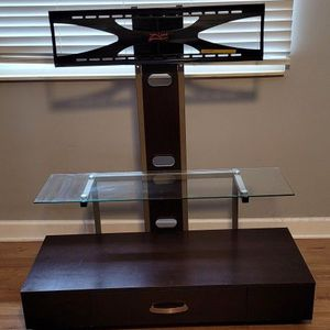 """Tv Stand With Drawer, Holds Up To 55"""" ( 32"""" LG TV Included) for Sale in Bloomingdale, IL"""