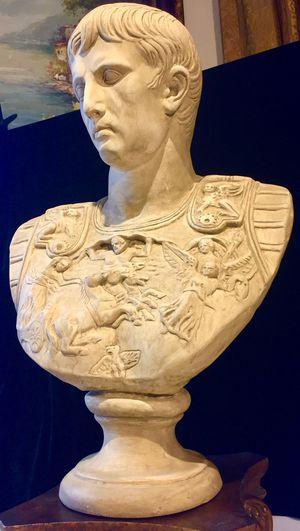 Gorgeous decorative art, ceramic art plaster, Pontius Pilate H 23xW15xD7 inch for Sale in Chandler, AZ