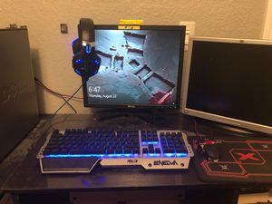 Gaming Pc (All included) GPU( AMD Radeon R7 200 Series) Shoot me a price for Sale in Elverta, CA
