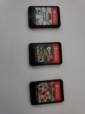 Nintendo switch games for Sale in Houston, TX