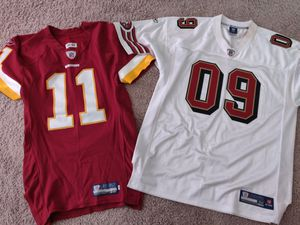 Redskins and 49ers Football Jersey for Sale in Tampa, FL