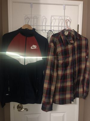 Flannels,hoodies,windbreaker, jackets for Sale in Artesia, CA