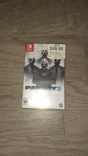 Payday 2 Nintendo switch for Sale in Seattle, WA