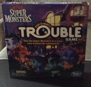 SUPER MONSTERS POP O MATIC TROUBLE GAME for Sale in Minneapolis, MN