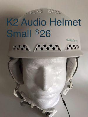 K2 Women's Small Audio Virtue Helmet Snowboard Snow Ski used for Sale in San Clemente, CA