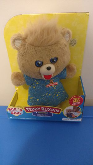 Teddy Ruxpin Hug n Sing for Sale in Simpsonville, SC
