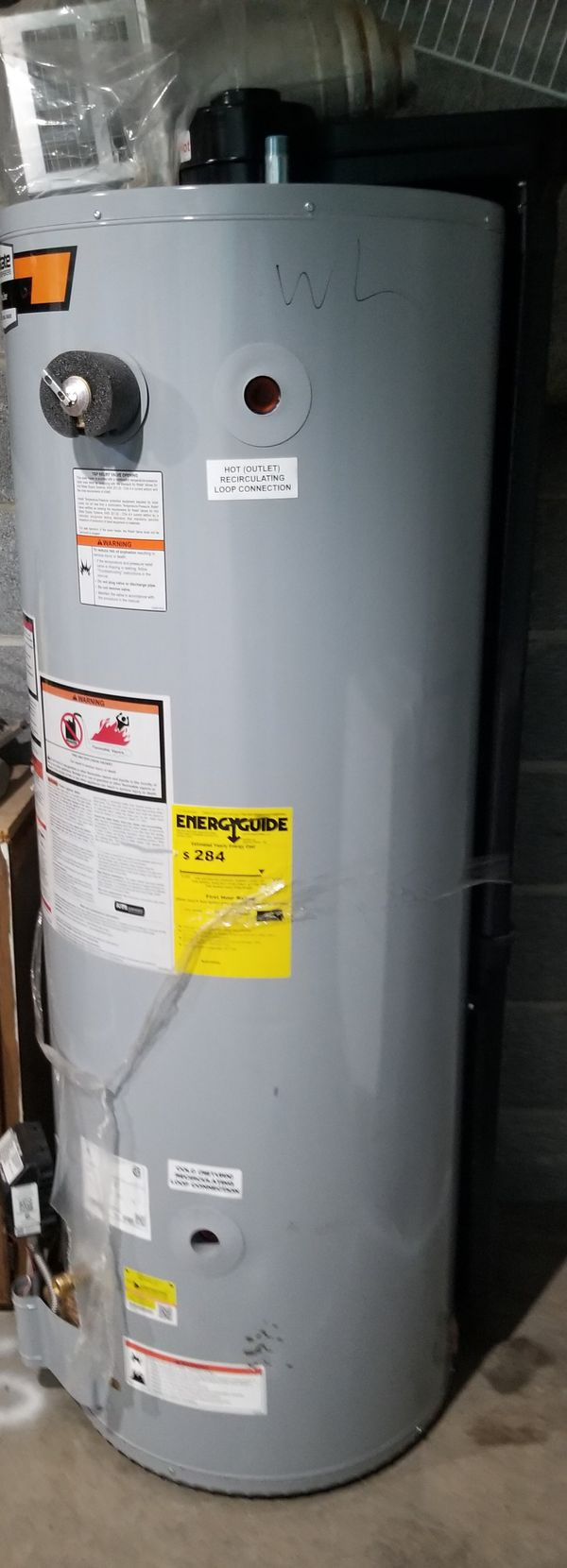 Water Heater( natural gas)