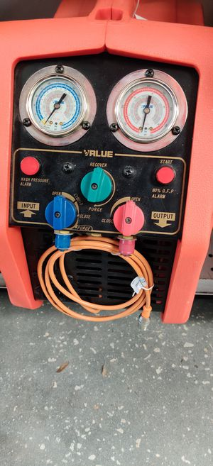 Refrigerant recovery unit value for Sale in Tampa, FL