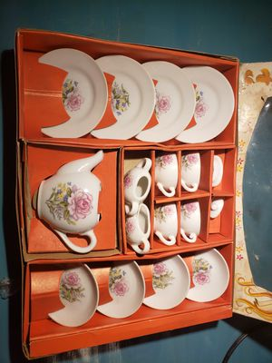 toy china tea set for Sale in Long Beach, CA