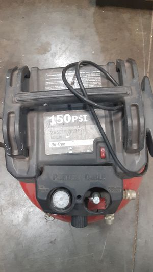 Porter-Cable 150psi, 6gal. compressor. for Sale in Jessup, MD