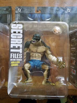 DC Secret Files collectible action figures for Sale in Port Richey, FL