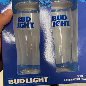 Bud Light Beer Glasses for Sale in Marietta, GA