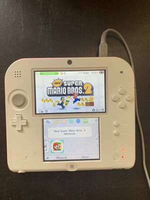 Nintendo 2 DS Super Mario brothers edition$60 for Sale in Owings Mills, MD