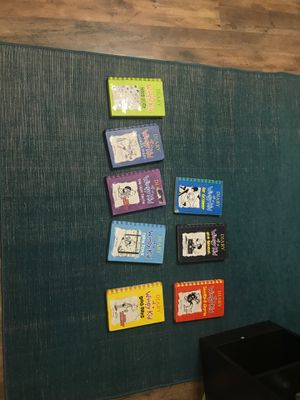 Dairy of a Wimpy Kid books #2 4 5 6 8 10 11 12 for Sale in Vancleave, MS