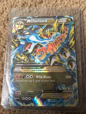 Pokemon blue mega charzard for Sale in Day Heights, OH