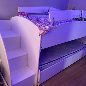 White Twin Bed for Sale in San Diego, CA